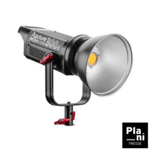 PLANIPRESSE | LED | Aputure Cob 300 avec Lentille Fresnel