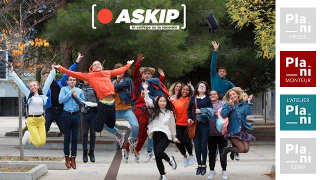 ASKIP saison 2, sur France 4 et actuellement sur la plateforme de France TV