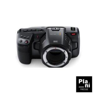 PLANIPRESSE | Caméra | Blackmagic Pocket 6K