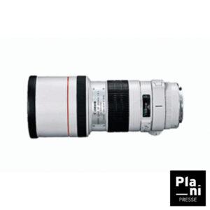 PLANIPRESSE |Optiques Photo | Canon EF 300MM f/4 Serie L Stabilisé