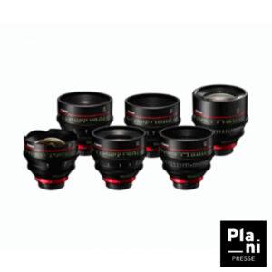 PLANIPRESSE | Optiques 35 MM | Canon Série CN-E EF : 14 / 24 / 35 / 50 / 85 / 135 mm