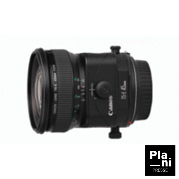 PLANIPRESSE   Serie TSE   Canon TS-E 45mm f/2.8
