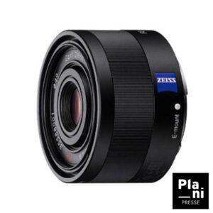 PLANIPRESSE | Optiques Photo Sony | FE 35MM F2,8 ZA Sony