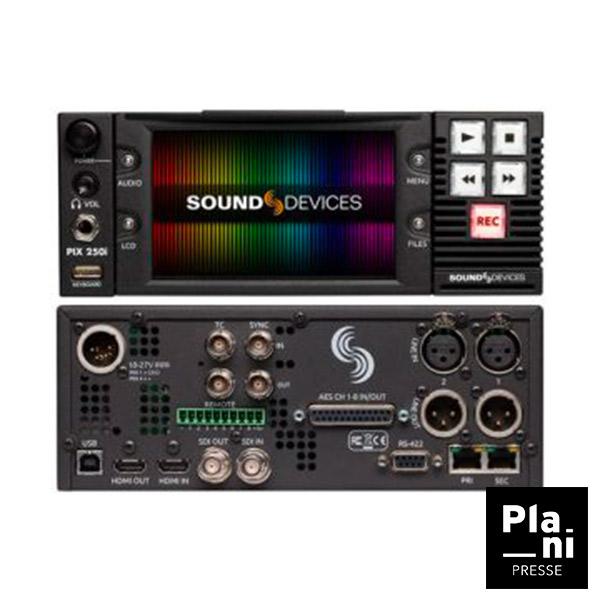 PLANIPRESSE | Enregistreurs Vidéo| PIX 250i Video Devices