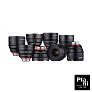 PLANIPRESSE | Optiques 35 MM | Samyang Xeen Prime 14 / 24 / 35 / 50 / 85 / 135 mm